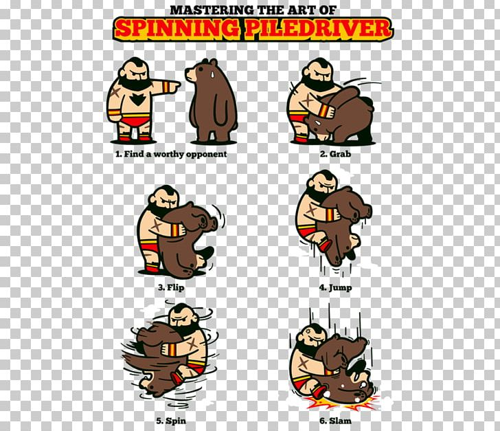 Piledriver cliparts freeuse library Zangief Piledriver T-shirt Street Fighter Tutorial PNG ... freeuse library