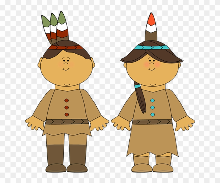 Pilgrim and indian women clipart vector black and white download Transparent Native Americans Png Clipart Picture - Cartoon ... vector black and white download