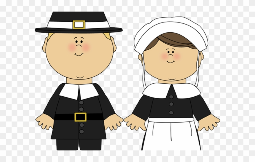Pilgrim and indian women clipart png black and white download Related Cliparts - Cartoon Pilgrim And Indian - Png Download ... png black and white download