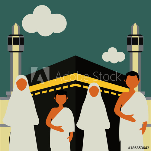 Pilgrimage to mecca clipart png download Muslim pilgrims perform Hajj / Umrah (pilgrimage to Mecca ... png download