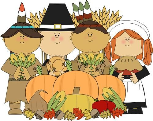 Pilgrims and indians clipart by melon headz png transparent download Pilgrims and Indians with Thanksgiving | NWLES ... png transparent download