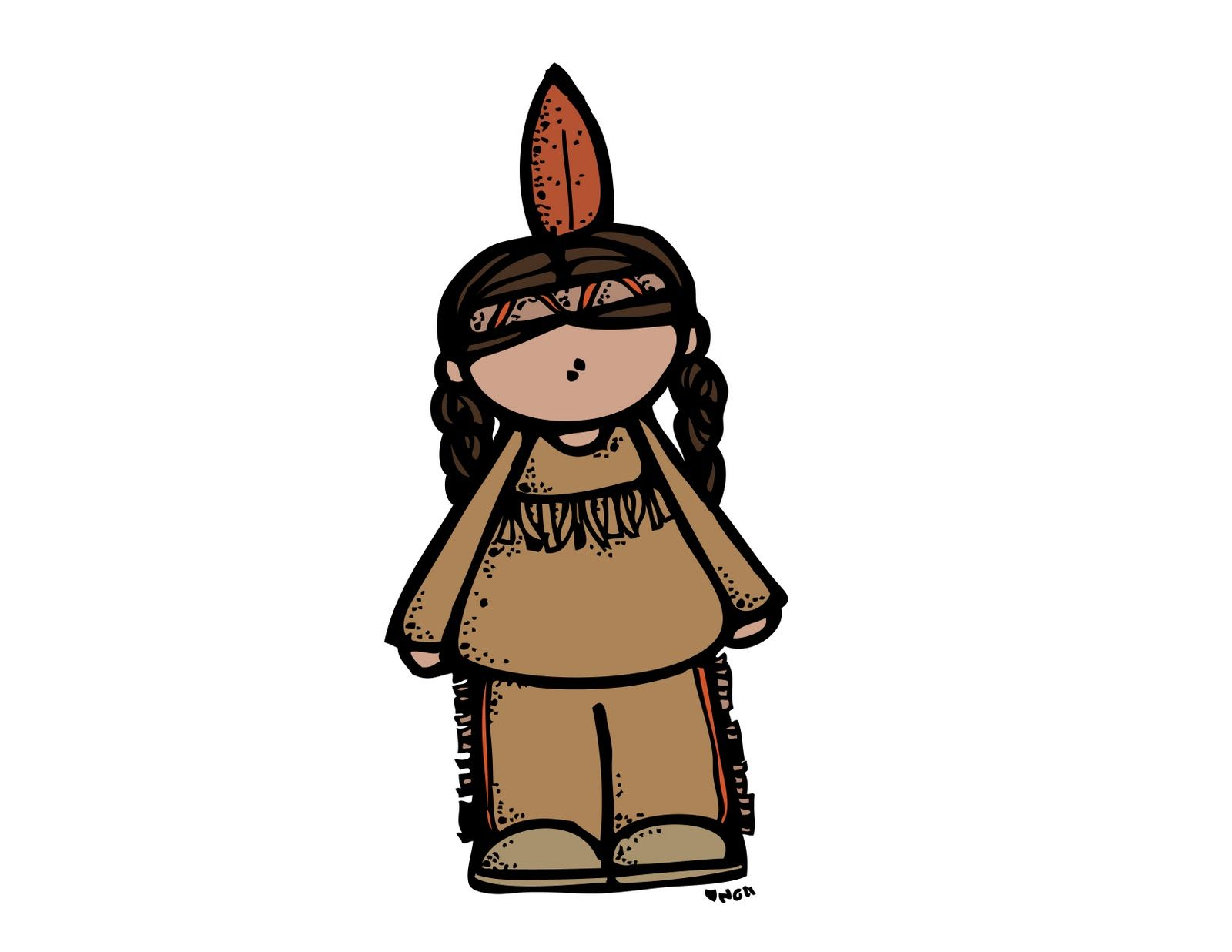 Pilgrims and indians clipart by melon headz clip freeuse stock MelonHeadz: Indian | Printables and More | Cartoon kids ... clip freeuse stock