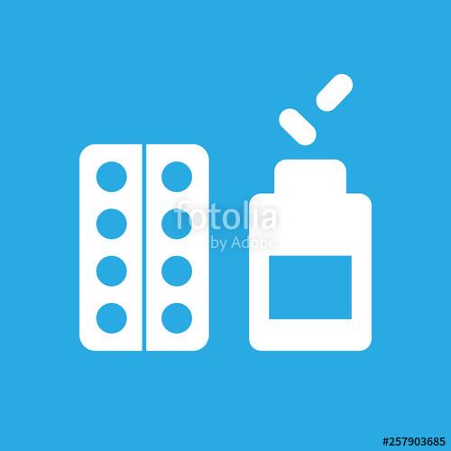 Pill icon clipart clip art free stock Medical pill icon. Vector clipart.\