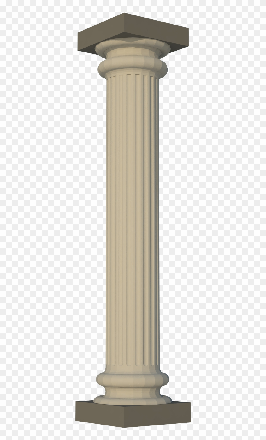 Pillar clipart graphic library stock Greek Pillar Dustynus Thingiverse Png Fancy Pillar ... graphic library stock
