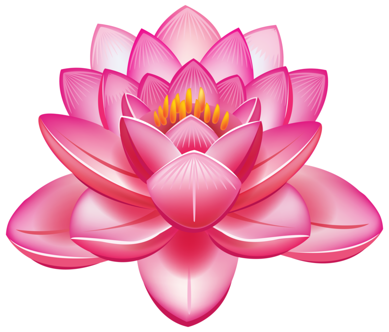 Pin lotus clipart
