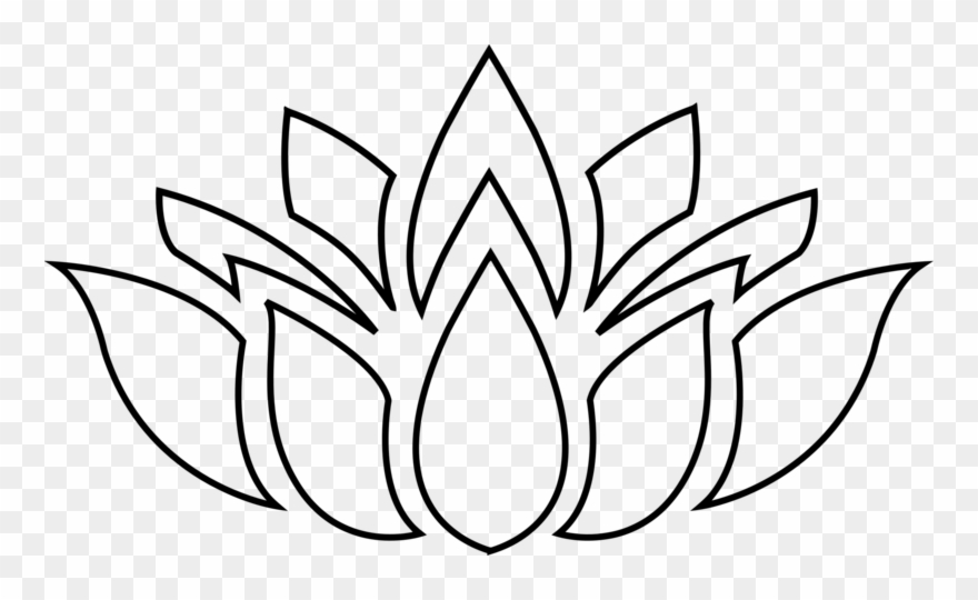 Pin lotus clipart clipart freeuse Pin Lotus Clipart Silhouette - Free Lotus Flower Clip Art ... clipart freeuse