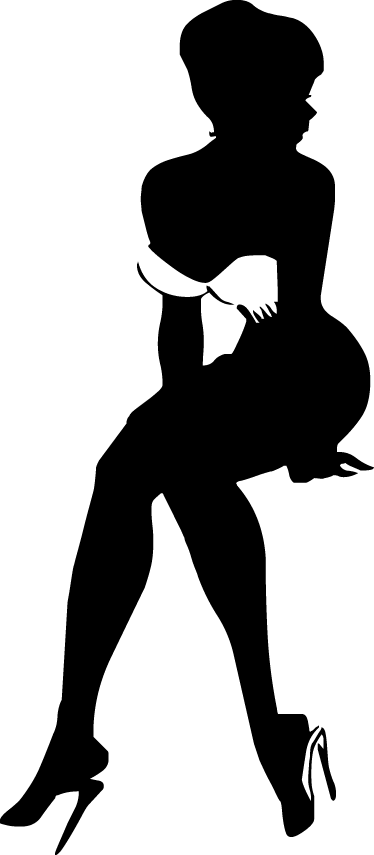 Pin up silhouette clipart svg transparent Pin up girl silhouette clipart images gallery for free ... svg transparent