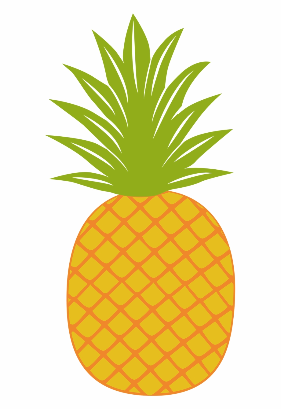 Pinaeapple clipart picture black and white library Pineapple Clipart Fancy - Balloon Free PNG Images & Clipart ... picture black and white library