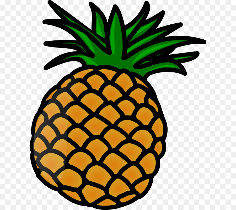 Pinaeapple clipart png freeuse stock Pineapple Cartoon clipart - Pineapple, Ananas, Fruit ... png freeuse stock