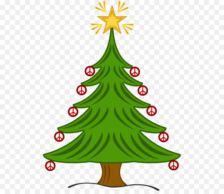 Pine tree illustration clipart png black and white library Christmas Tree Illustration clipart - Pine, Tree, Christmas ... png black and white library
