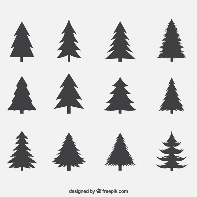 Sunrise with pinetrees clipart vector royalty free Pine Vectors, Photos and PSD files | Free Download vector royalty free
