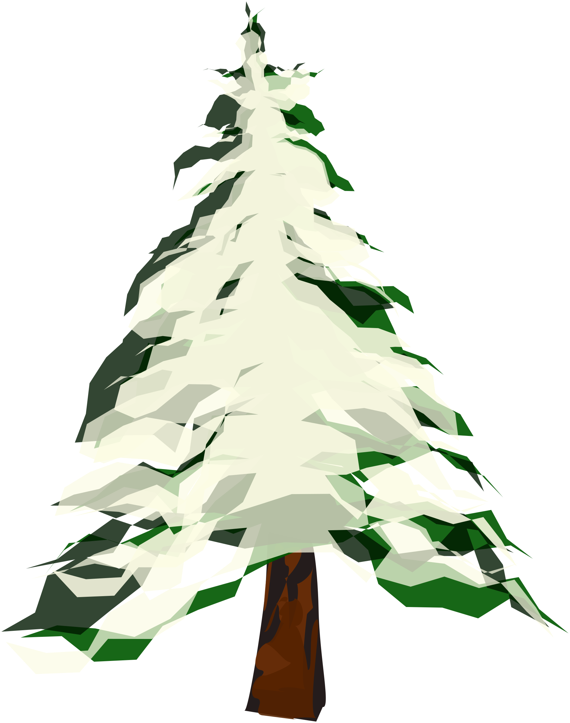 Winter tree clipart transparent image free download Clipart - Winter Tree 2 image free download