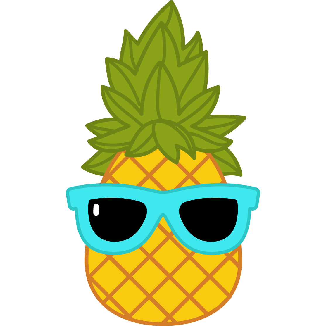 Pineapple clipart crown image black and white library Products – Pineapple Craze image black and white library