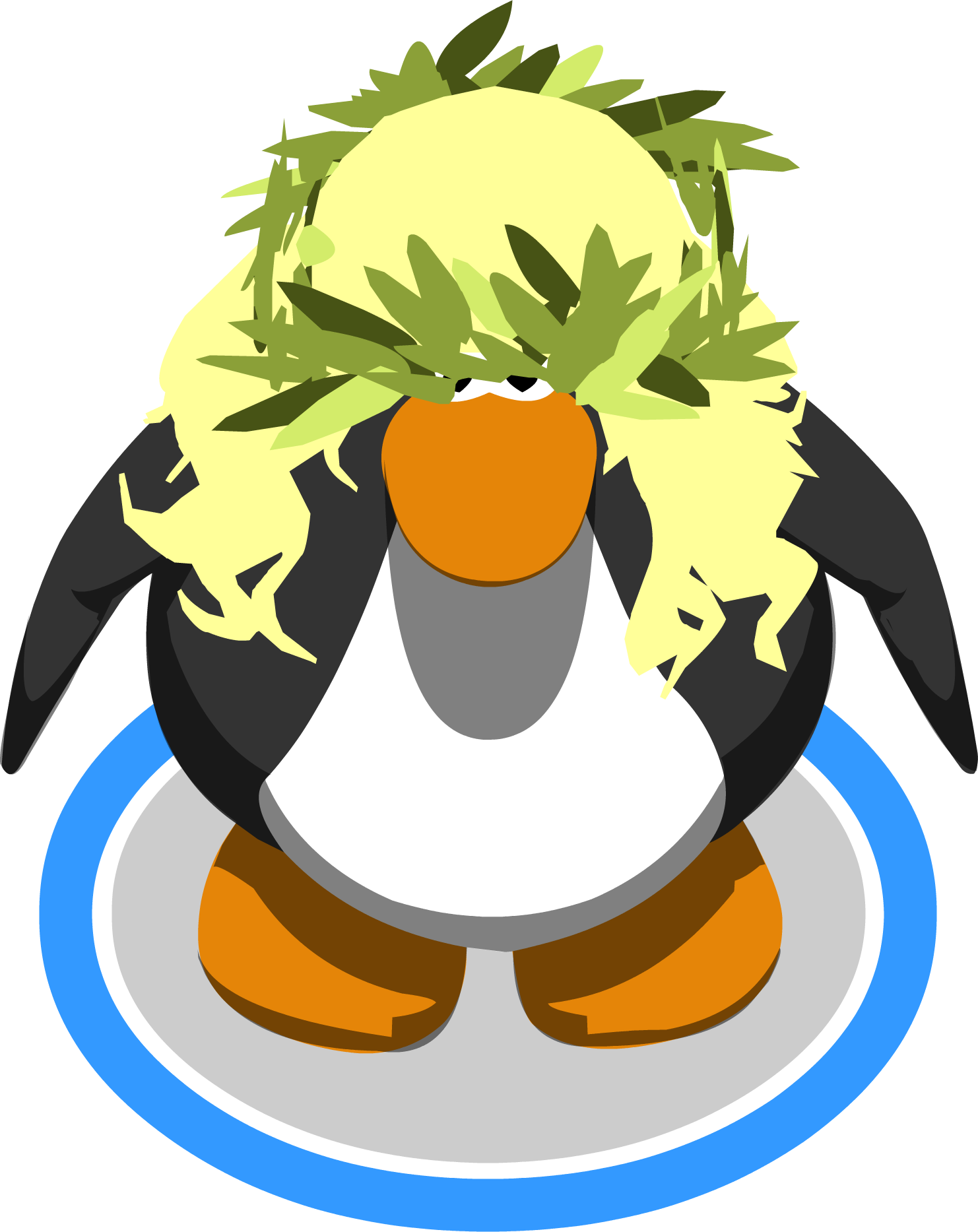 Pineapple clipart crown vector black and white download Image - The Pineapple Crown ingame.PNG | Club Penguin Wiki | FANDOM ... vector black and white download