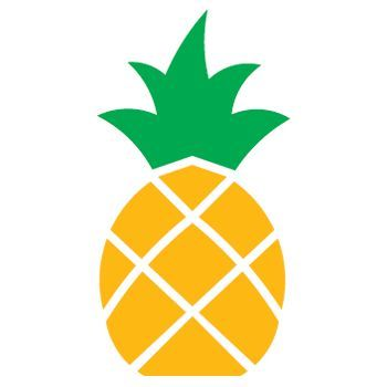 Pineapple clipart easy clipart freeuse download Pineapple Stencil | Projects to try | Pineapple drawing ... clipart freeuse download