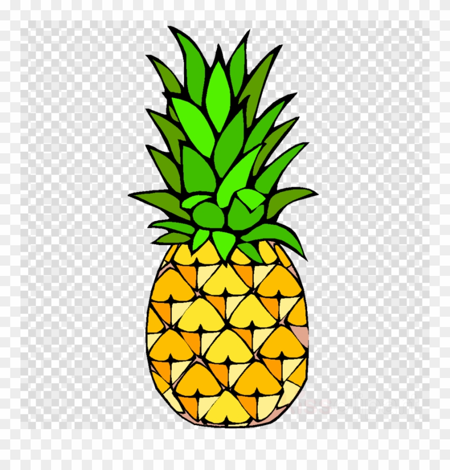 Library of pineapple svg stock easy png files Clipart Art 2019