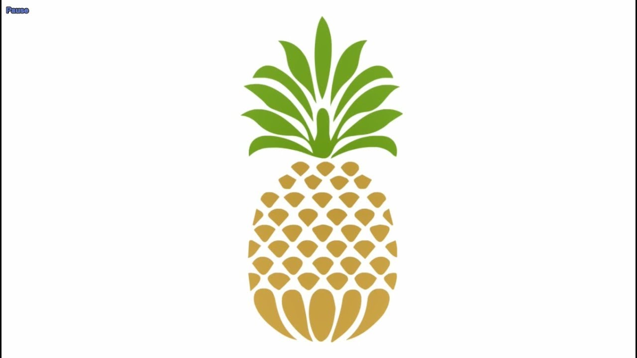 Pineapple clipart easy banner library stock Pineapple paintings search result at PaintingValley.com banner library stock