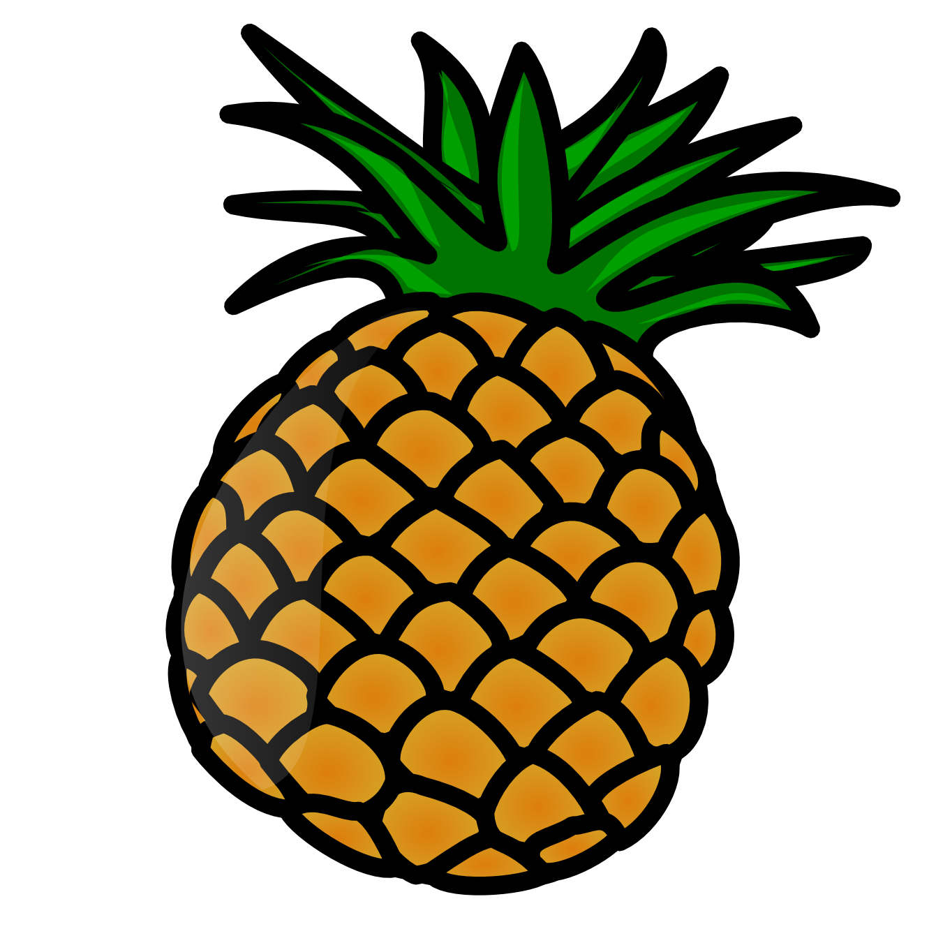 Pineapple clipart free svg library library Pineapple Clip Art Free | Clipart Panda - Free Clipart Images svg library library