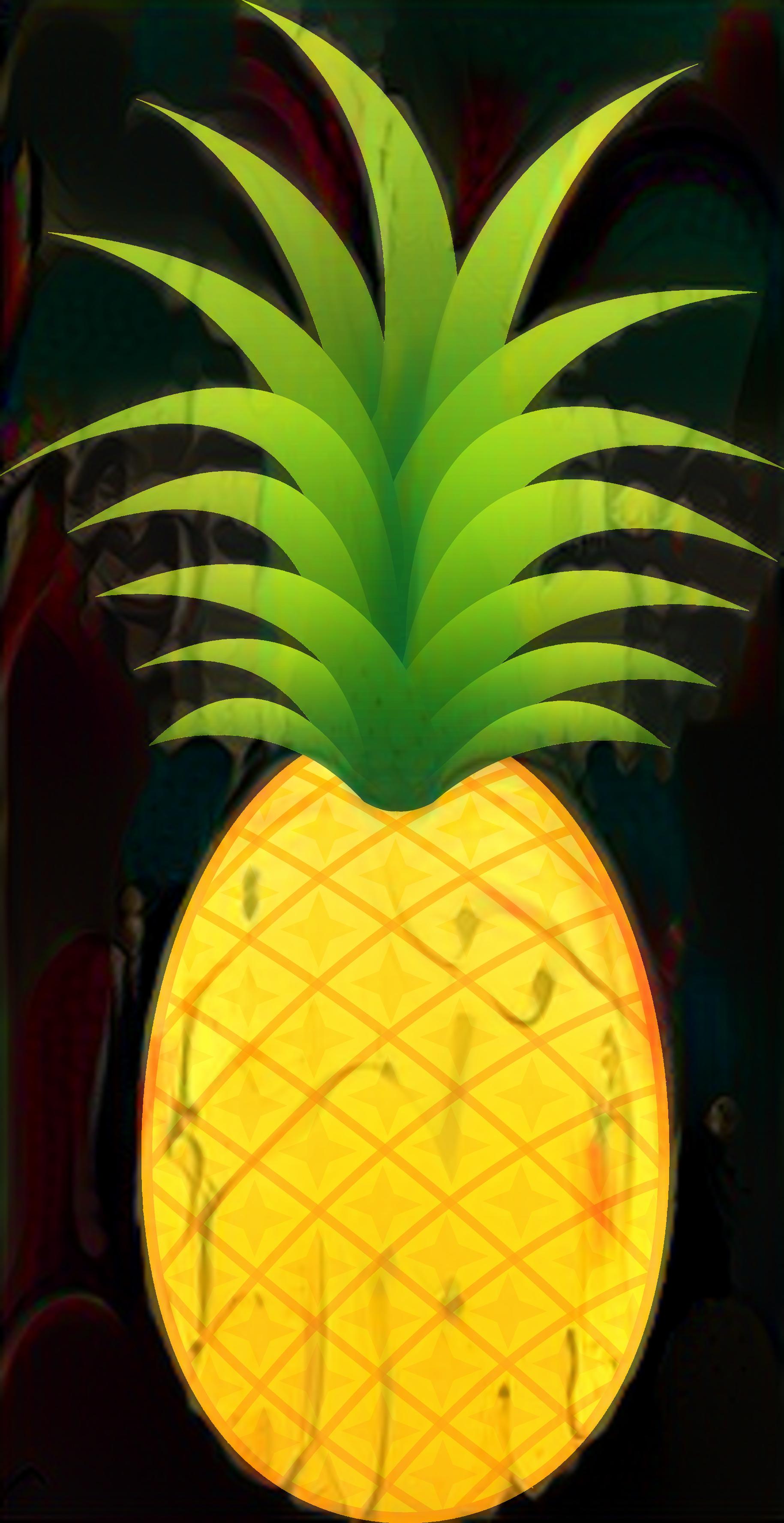Pineapple clipart no background clip transparent Pineapple Clip art Portable Network Graphics Image ... clip transparent