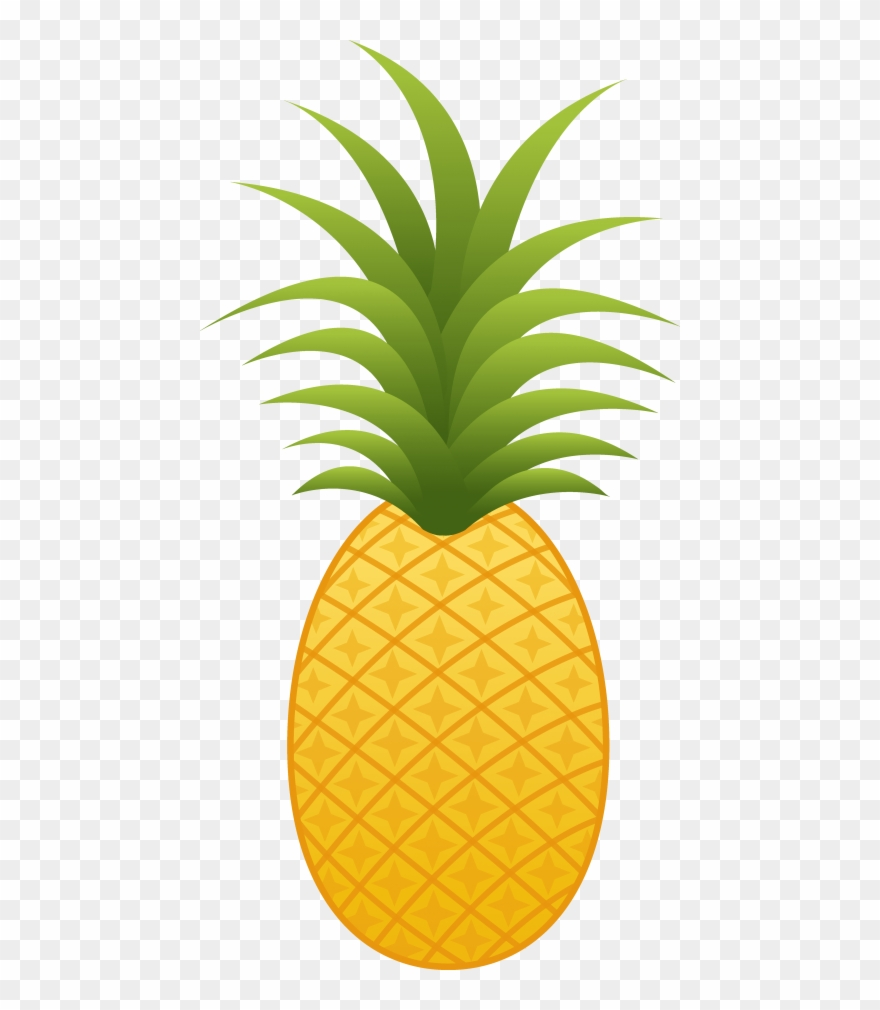 Pineapple clipart no background banner black and white stock Free Png Pineapple Png Images Transparent - Pineapple ... banner black and white stock