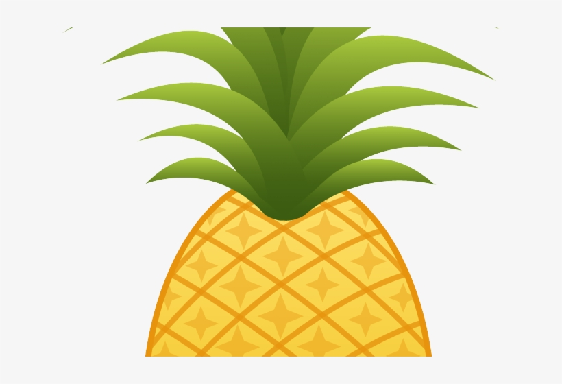 Pineapple clipart no background clip art free library Pineapple Clipart Transparent - Pineapple With Clear ... clip art free library