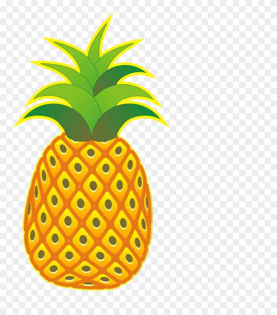 Pineapple clipart no background png royalty free library Pineapple Png File - Pineapple Cartoon No Background Clipart ... png royalty free library