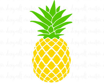 Pineapple clipart svg