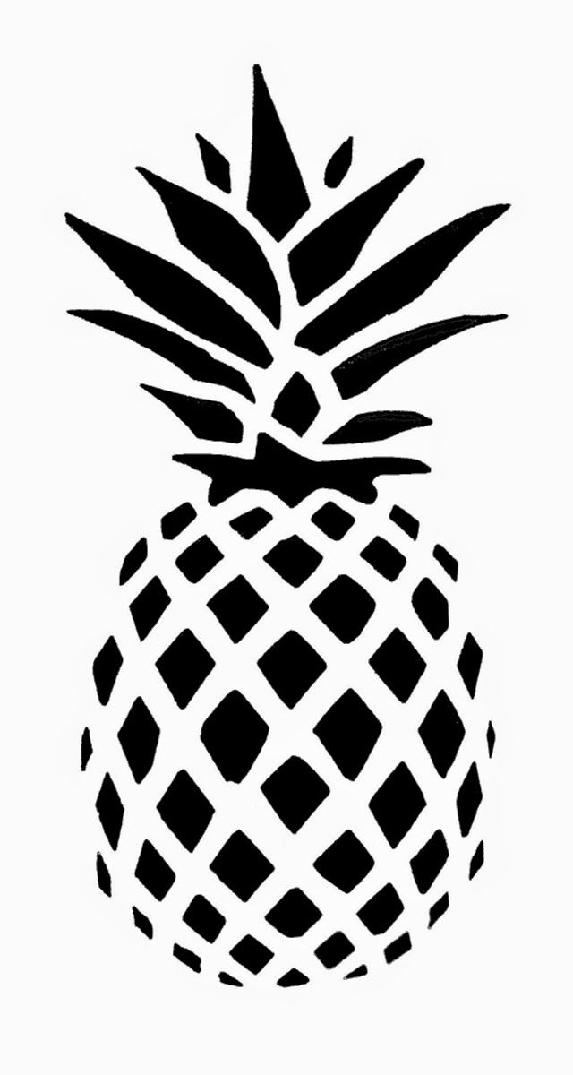 Pineapple clipart svg clip freeuse download Pineapple clipart svg - ClipartFest clip freeuse download