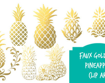 Pineapple clipart svg picture free Pineapple clipart   Etsy picture free