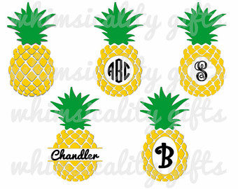 Pineapple clipart svg png transparent stock Pineapple cutter   Etsy png transparent stock
