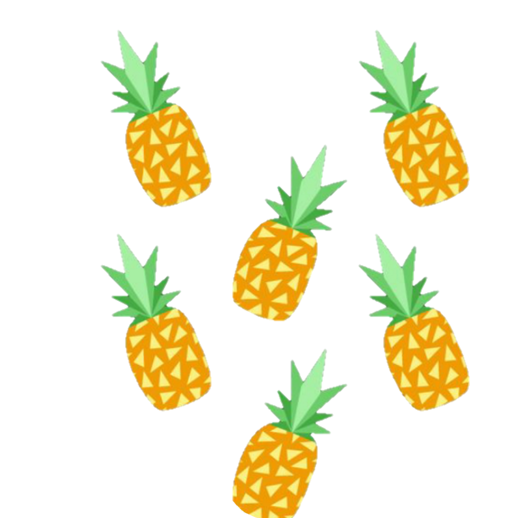 Pineapple crown clipart jpg library library pineapple pineapples tumblr - Sticker by nl26 jpg library library