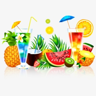 Pineapple drink clipart graphic royalty free library Cocktails Clipart Pineapple Drink - Summer Juice Png #833530 ... graphic royalty free library