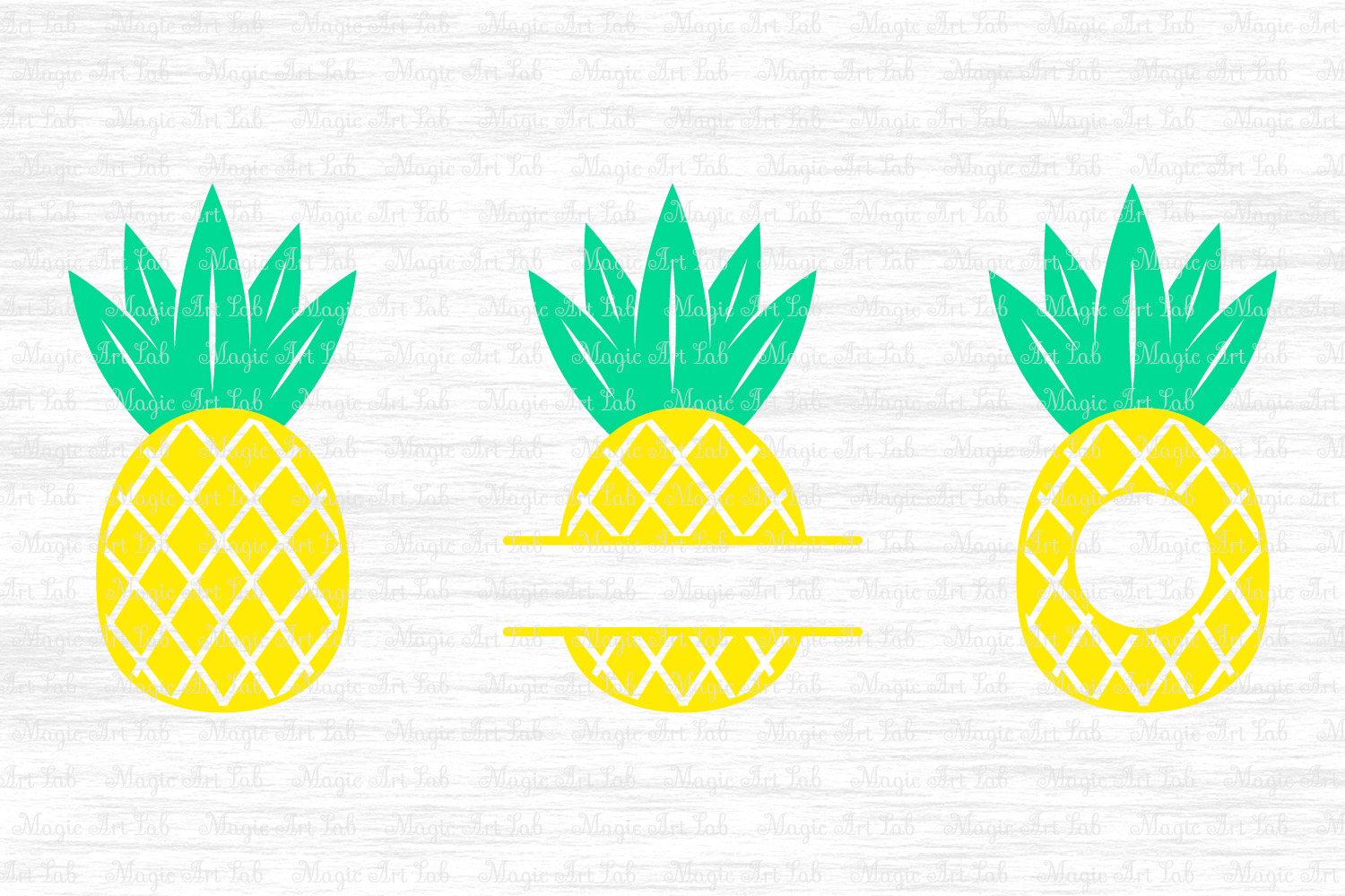 Pineapple monogram clipart clipart download Pineapple SVG, Pineapple monogram svg, Pineapple cut file clipart download