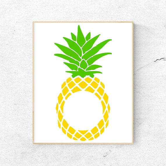 Pineapple monogram clipart clip art transparent download Pineapple Monogram Svg Files for Cricut, Pineapple Svg Files ... clip art transparent download