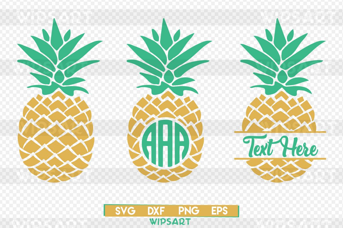 Pineapple monogram clipart clipart library Pineapple svg, pineapple monogram svg, ananas monogram svg clipart library