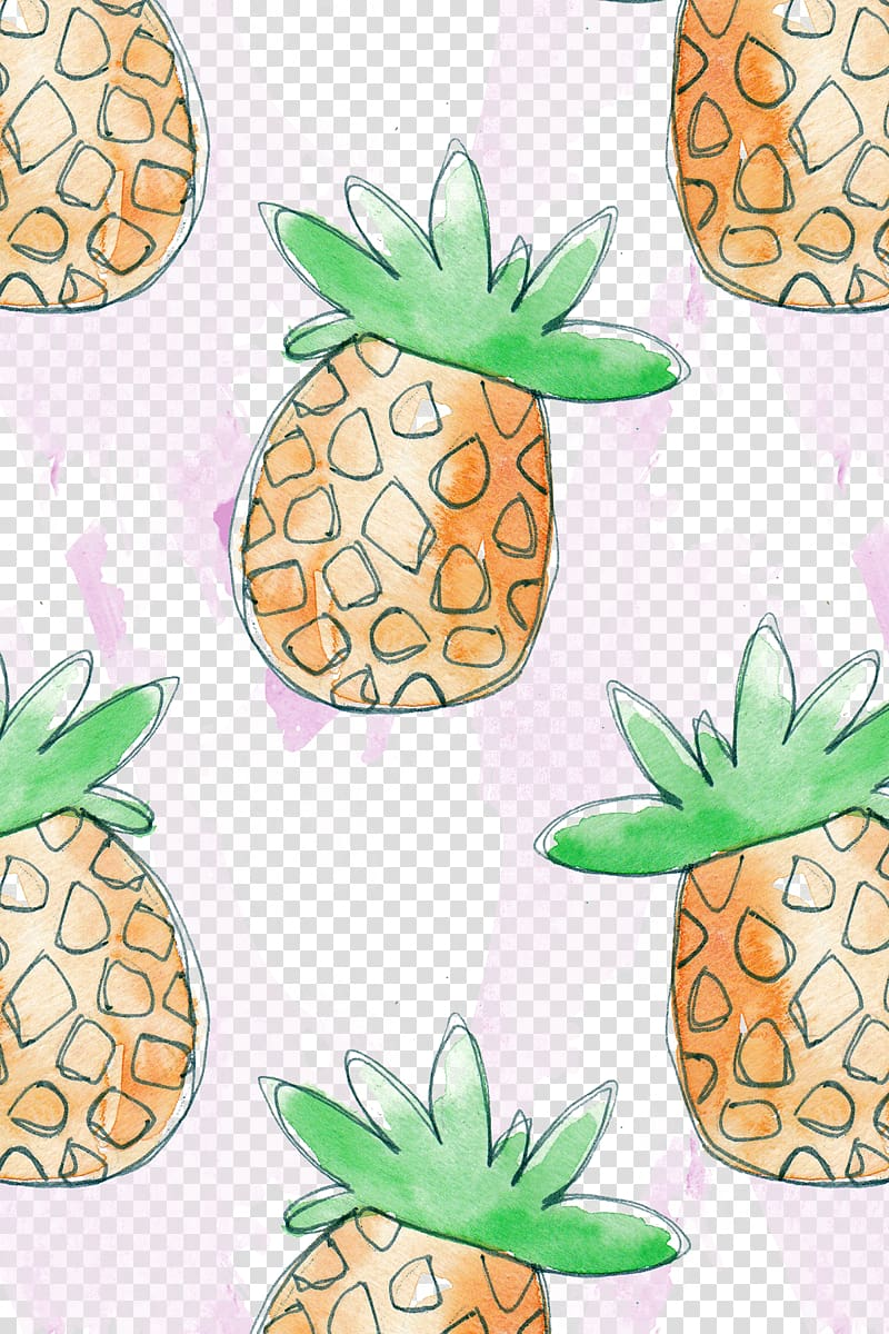Pineapple pattern clipart clip art library download Pineapple Fruit Auglis Pattern, Hand pineapple pattern ... clip art library download