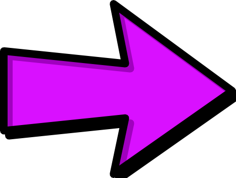 Pink and black arrow clipart svg library library arrow outline purple right - /signs_symbol/arrows/arrows_outlined ... svg library library