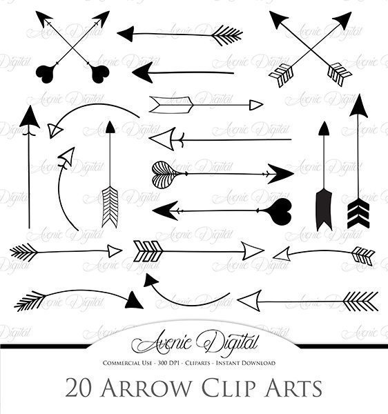 Pink and black arrow clipart picture royalty free download Black Arrow Clipart | Mygrafico picture royalty free download