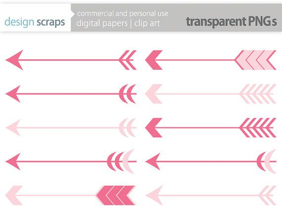 Pink and black arrow clipart image 17 Best images about design scraps clip art on Pinterest | Bunting ... image