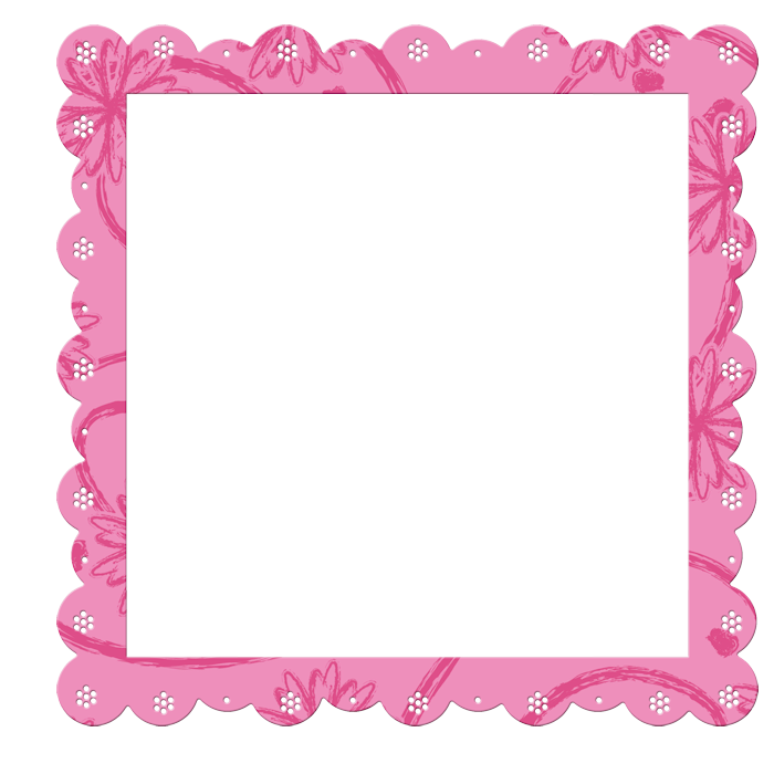 Pink and blue snowflake clipart graphic Pink Transparent Frame with Flowers Elements | 02 - Valentine's ... graphic