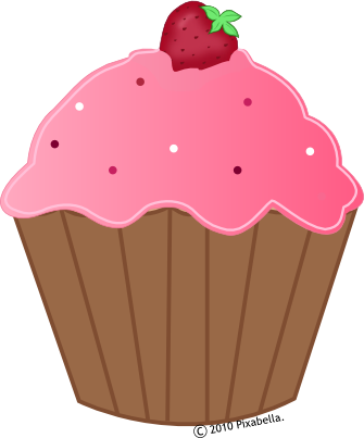 Pink and brown cupcake clipart png library library a cartoon cupcake | Body Wraps | Cupcakes, Cartoon cupcakes ... png library library