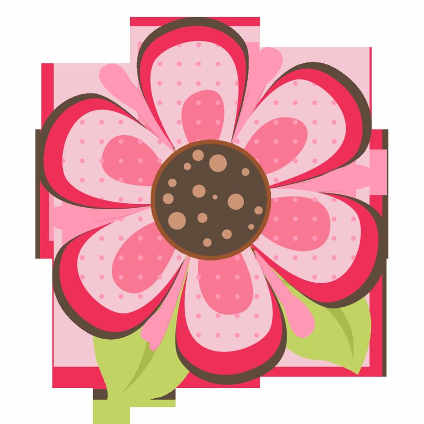 Pink and brown flower clipart svg freeuse download Ladybug On Pink Flower | Art that Inspires Me to Create | Pinterest ... svg freeuse download