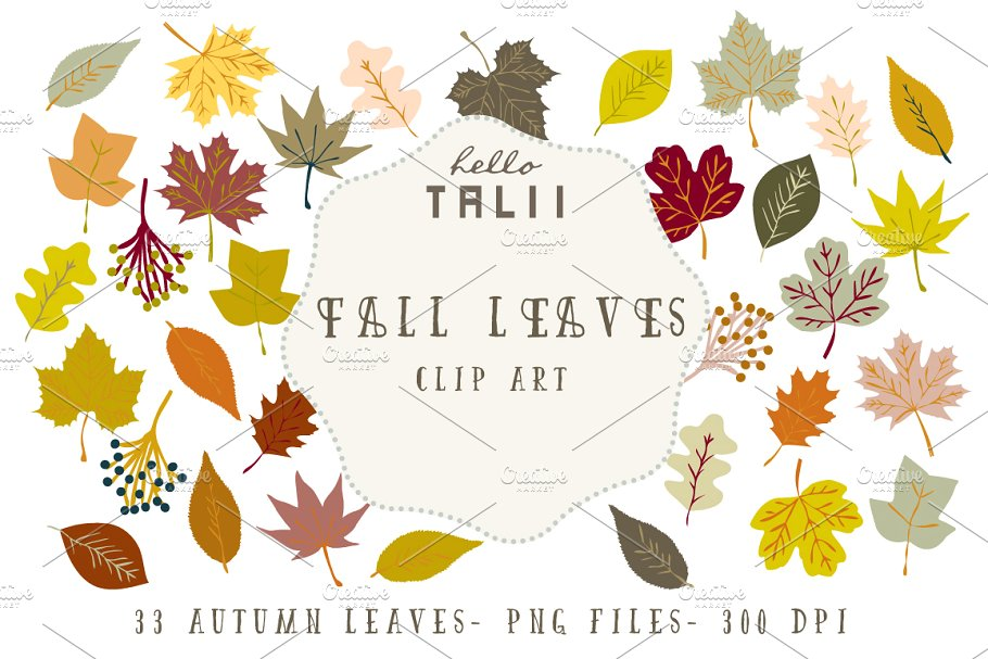 Pink and brown leaves clipart vector royalty free library Fall Leaves Clip Art vector royalty free library