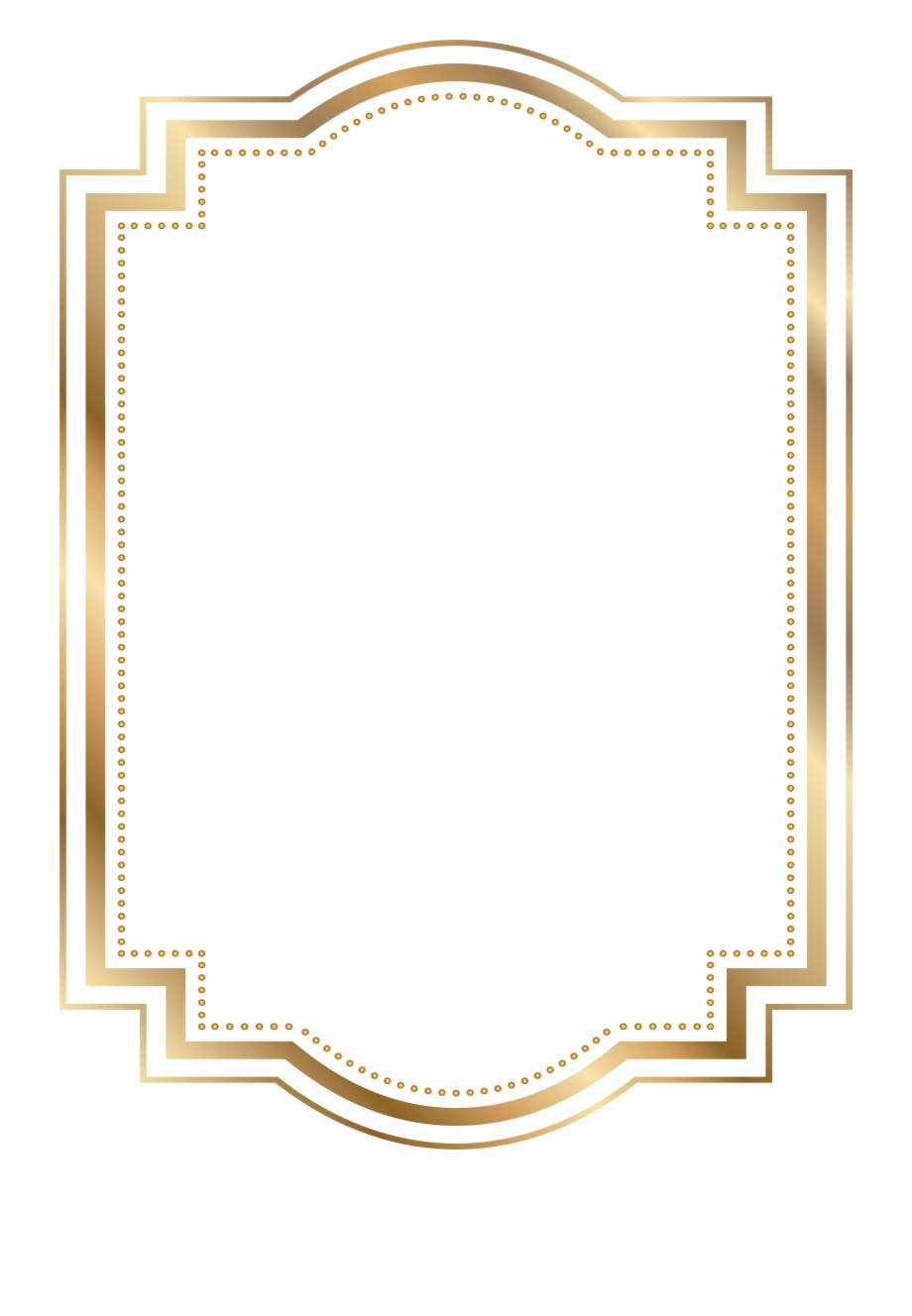 Pink and gold border clipart graphic freeuse library Gold Frame Border Png - Golden Border Clip Art Png Free PNG ... graphic freeuse library