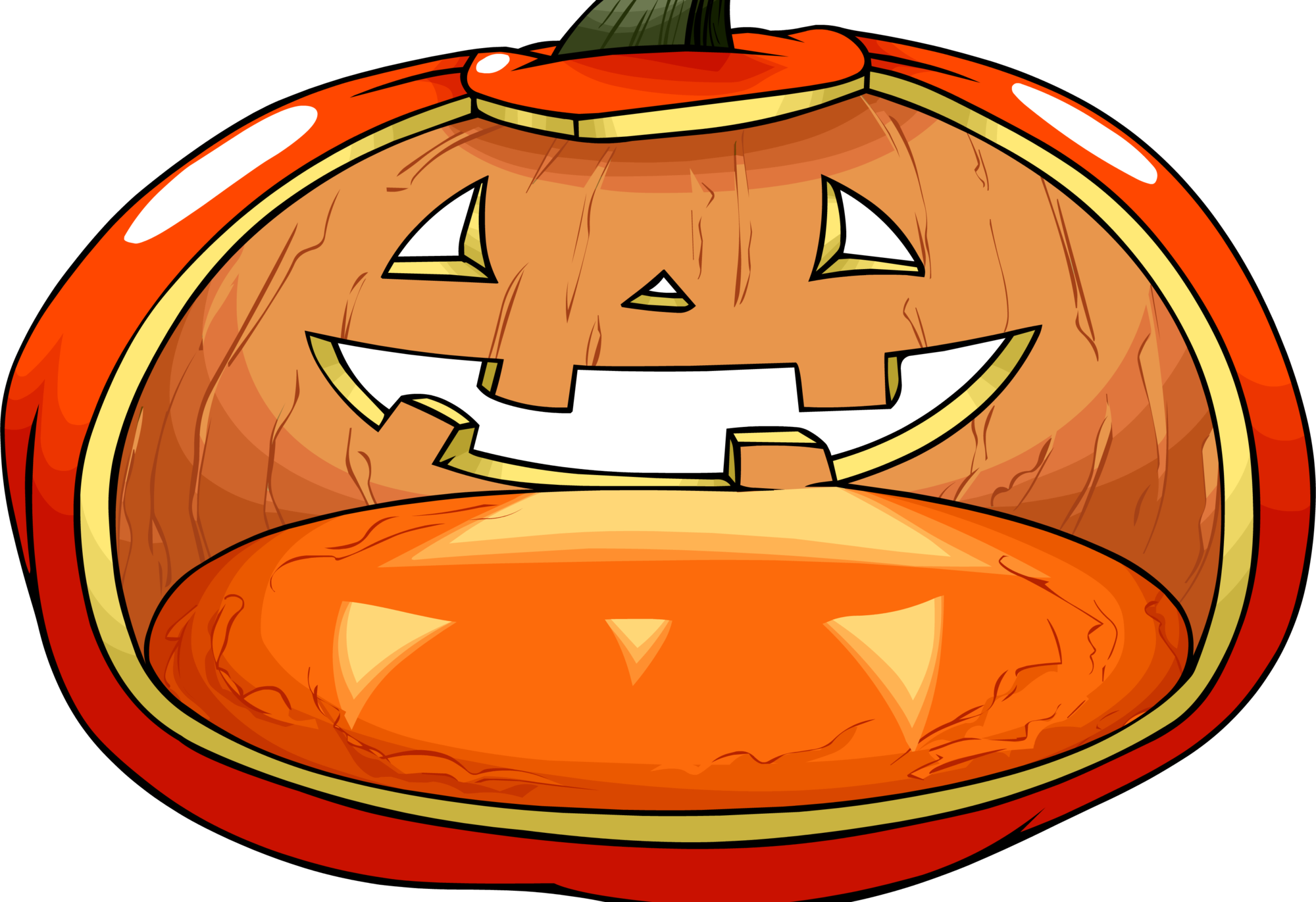 Pink and gold pumpkin clipart picture black and white download Jack O' Lantern | Club Penguin Wiki | FANDOM powered by Wikia picture black and white download