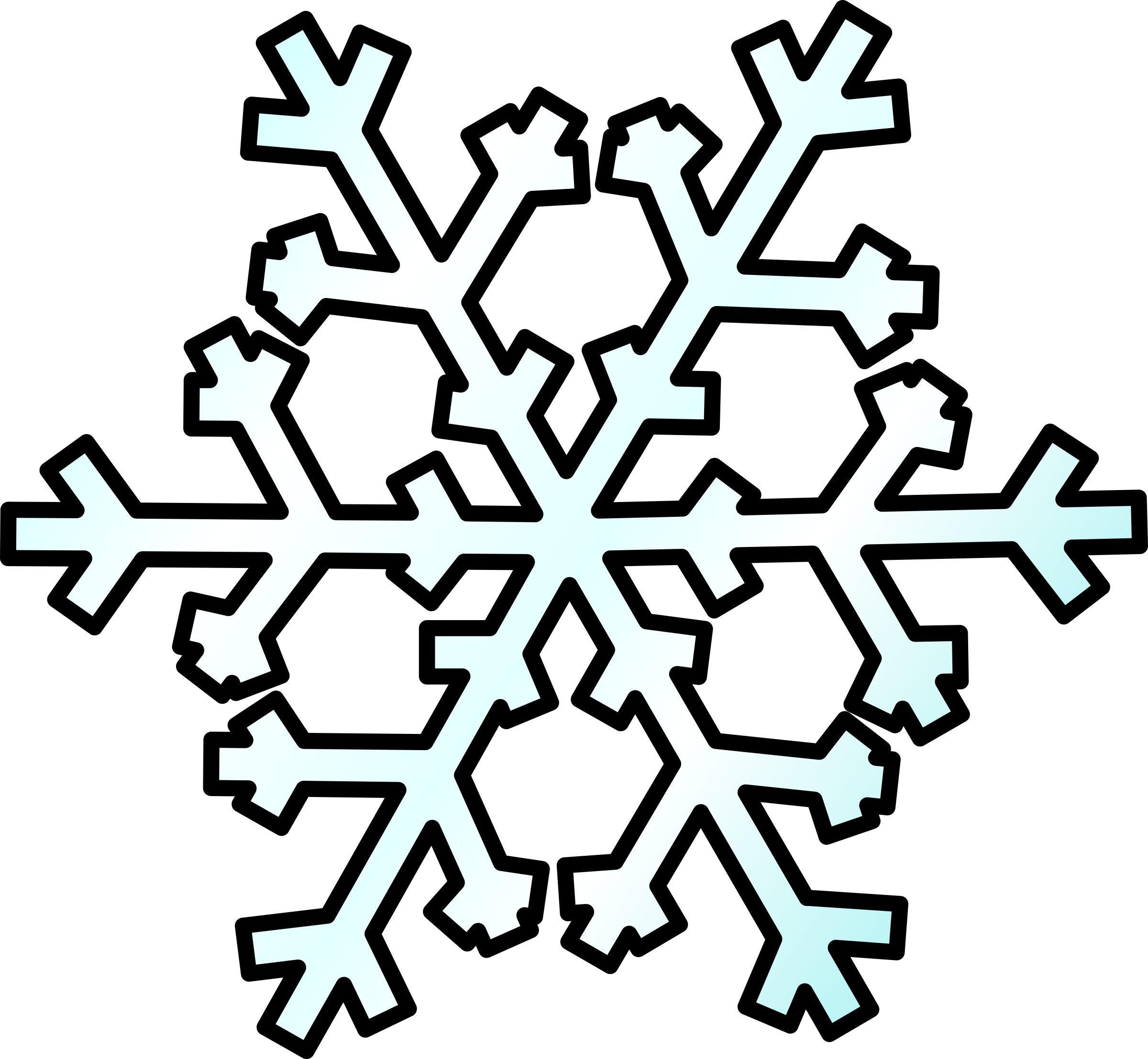 Snowflake banner clipart free image royalty free download Flake clipart snow weather ~ Frames ~ Illustrations ~ HD images ... image royalty free download