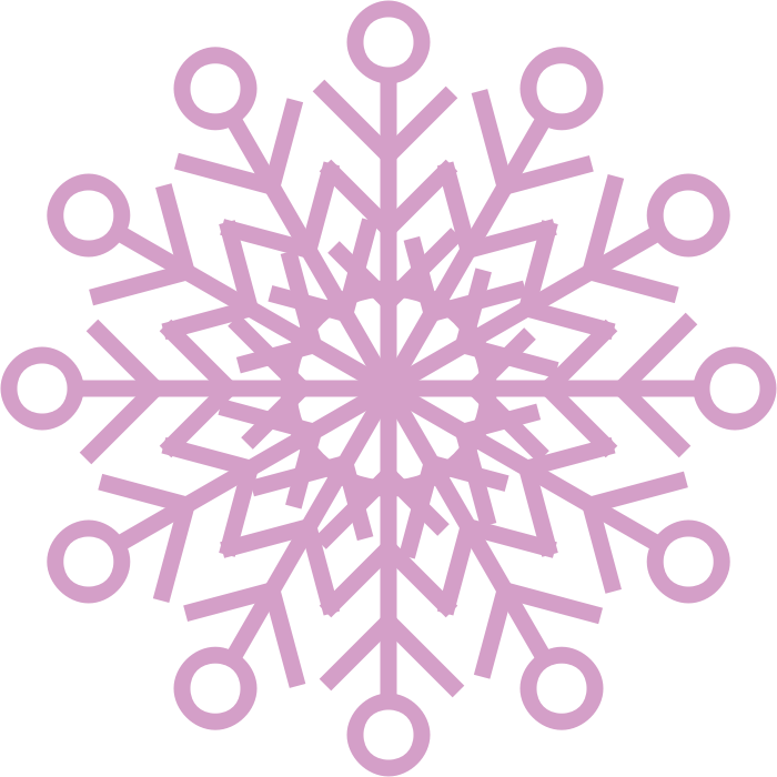 Snowflake clipart pink graphic free download Clipart - Snowflake graphic free download