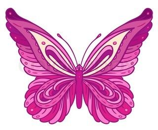Pink and purple clipart clipart Pink and purple butterfly clipart » Clipart Station clipart