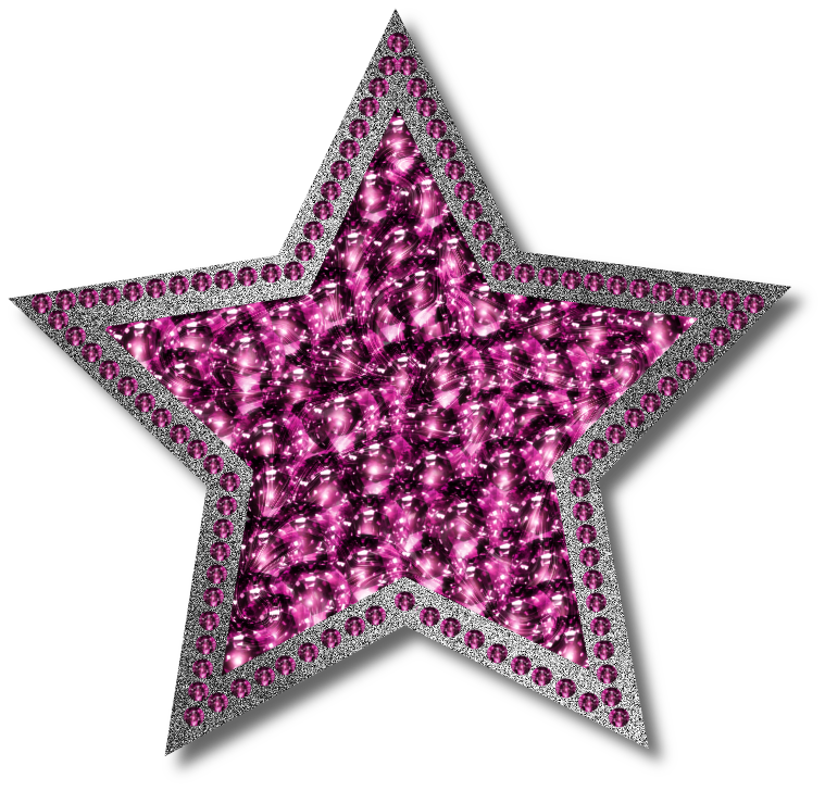 Sheriff star shape clipart vector black and white stock Pink Star PNG HD Transparent Pink Star HD.PNG Images. | PlusPNG vector black and white stock