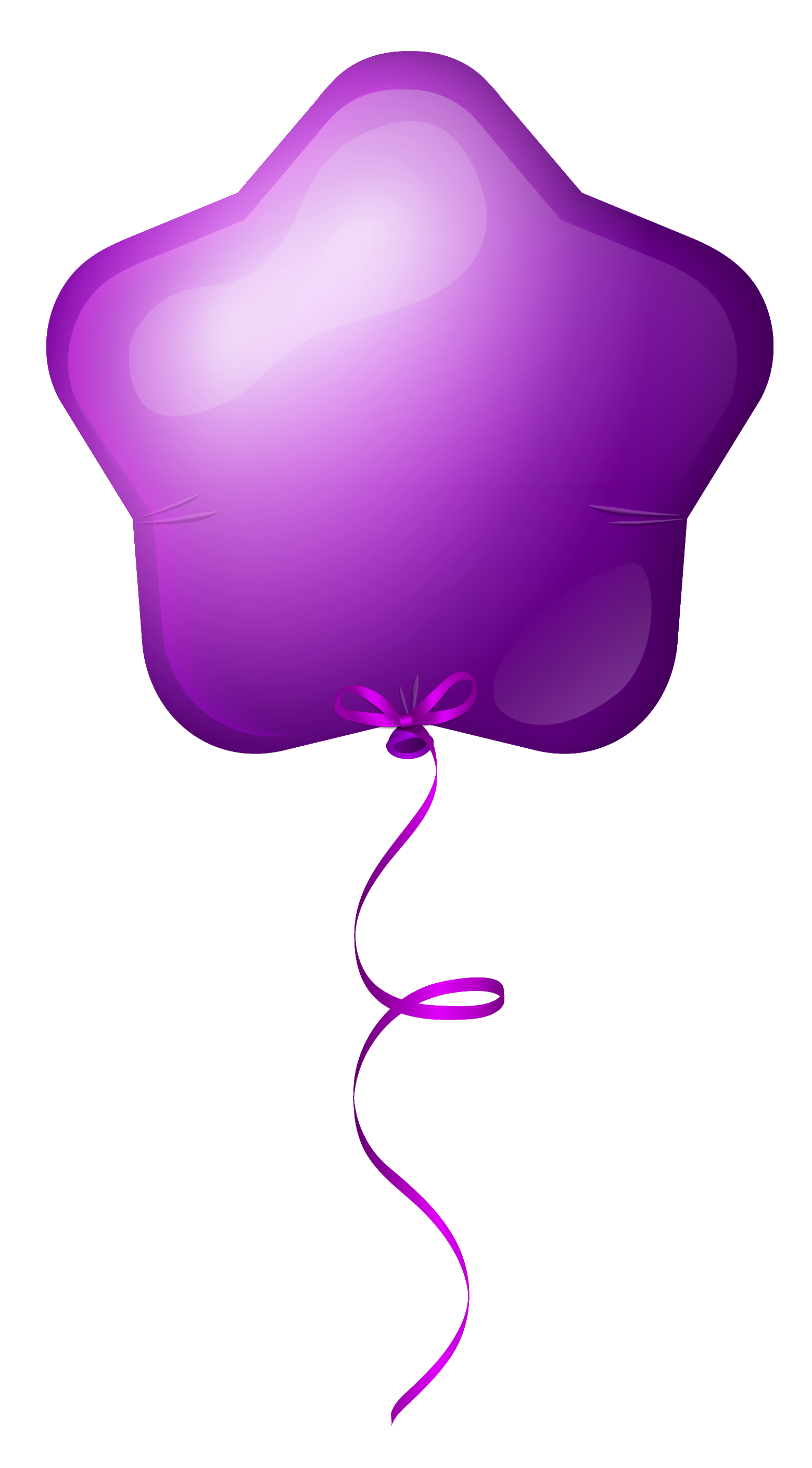 Purple star clipart clip art royalty free library Purple Star Balloon PNG Clipart Image | Gallery Yopriceville - High ... clip art royalty free library
